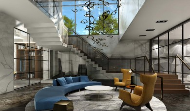 Interior Architectual Rendering (2014)