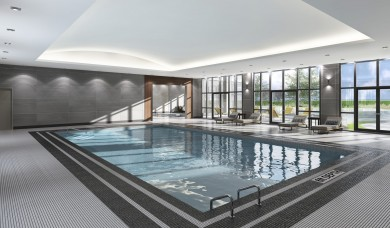 Virtual Indoor Pool Rendering (2014)