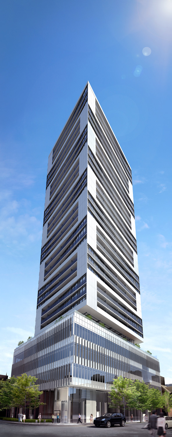 Alter Condos Toronto High-Rise Architectural 3D Rendering | Aareas Interactive