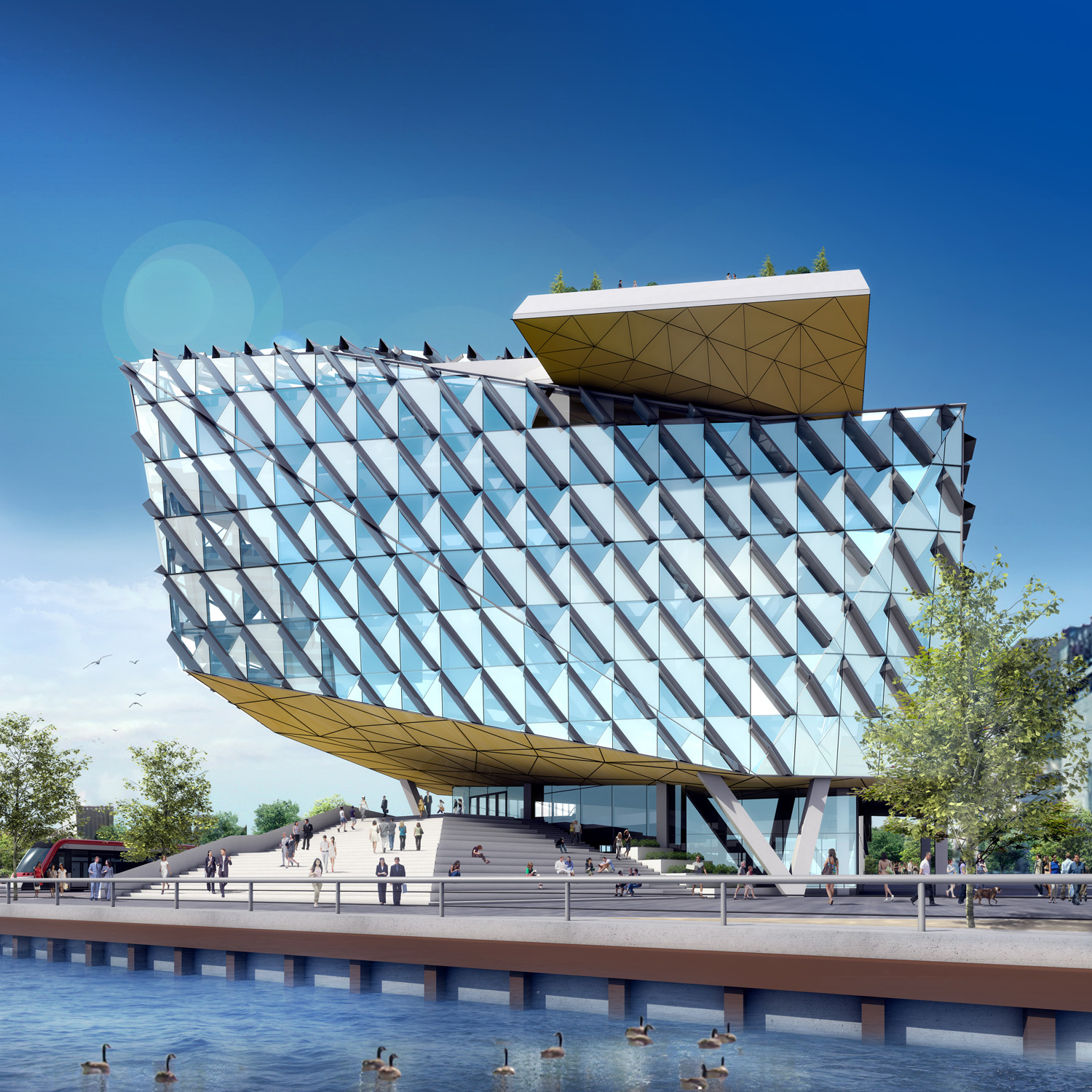 Innovation by Menkes Architectural 3D Rendering | Aareas Interactive
